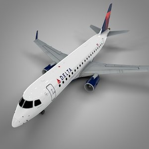 delta connection embraer175 l521 model