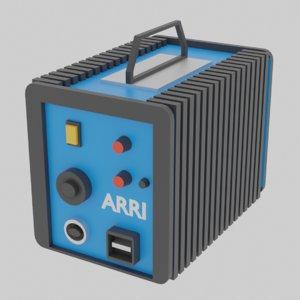 3D light movie generator model