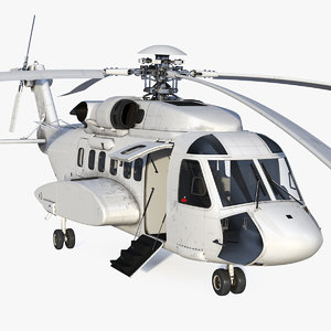 civil helicopter generic copters 3D