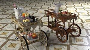 3D service carts