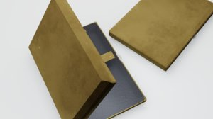 gold case leather model