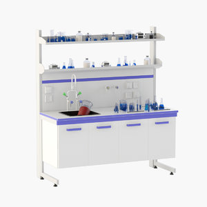 3D laboratory table 4