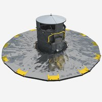 3D model gaia space observatory