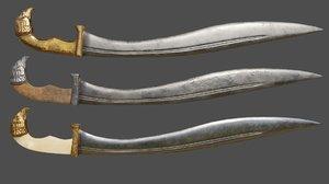 3D greek weapon model