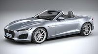 f-type regular convertible 3D