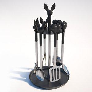 3D kitchen set lover berghoff
