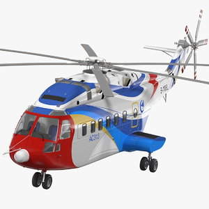 3D avicopter ac313 civilian helicopter