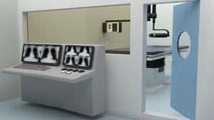 3D x-ray unit
