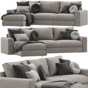 ditreitalia freedom sofa 3D model