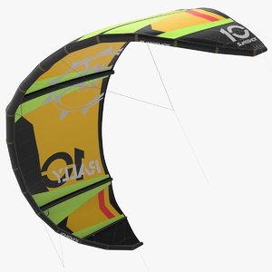 3D kitesurfing wing model