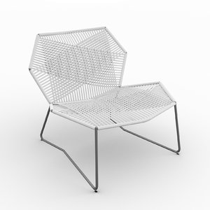 3D moroso tropicalia armchair 458
