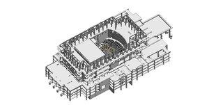 structural opera 3D model