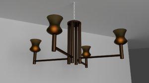 3D fixtures lighting lamp