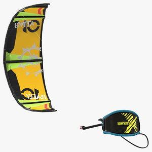 3D model slingshot kite