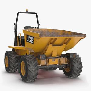 3D 6t-1 site dumper dump truck