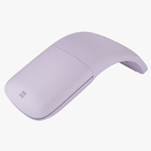 3D microsoft arc mouse
