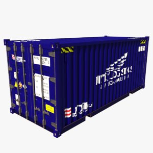 shipping container nyk 3D model