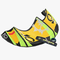 3D slingshot kitesurf folded set