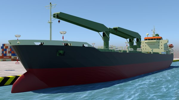 vessel tanker 3D