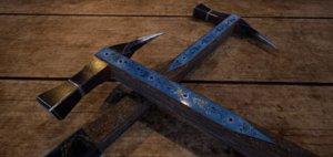 fantasy medieval hammer 3D model