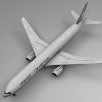 china southern boeing 777-300er 3D model