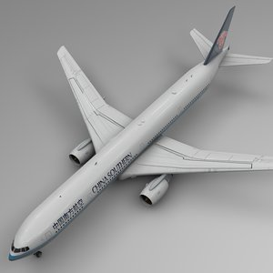 china southern boeing 777-300er 3D model