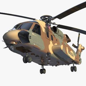 sikorsky h-92 superhawk 3D model