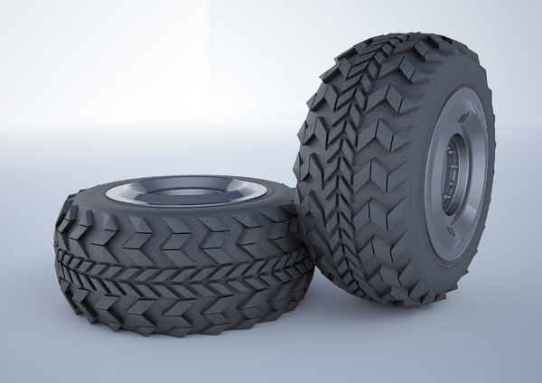 3D tire vehicle military