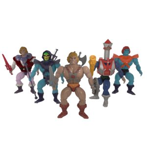 3D masters universe toy skeletor