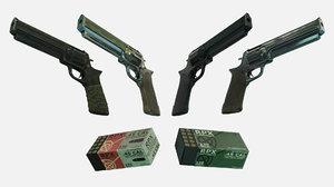 revolver skin pbr materials model