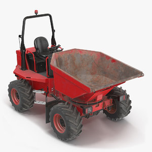 dumper generic dirty dump 3D model