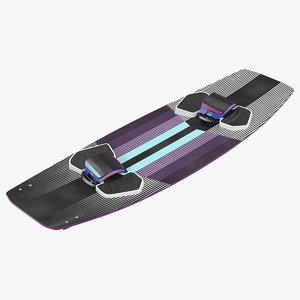 3D kiteboard generic kite boarding