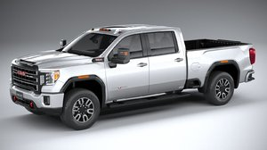 gmc sierra hd 3D