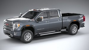 3D gmc sierra hd