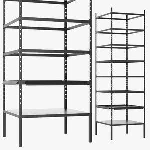 3D warehouse rack