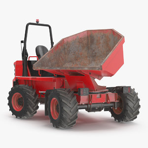 dumper generic dump dirty 3D model