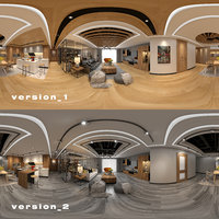 panoramic livingroom 3D model
