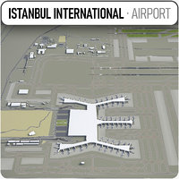 3D istanbul airport - ist