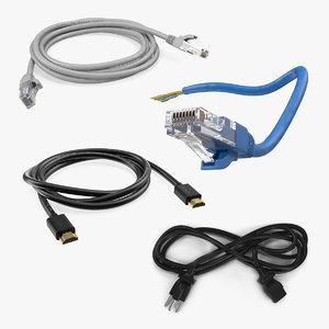computer cables 3 model