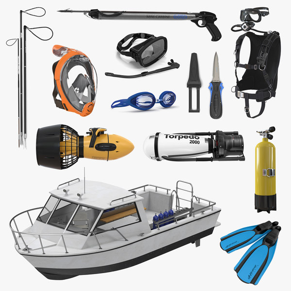 3D diving equipment 2