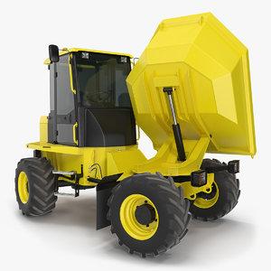 3D cabbed dumper generic dump truck