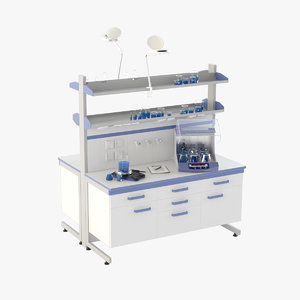 laboratory table model