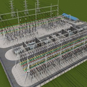 substation power electricity model