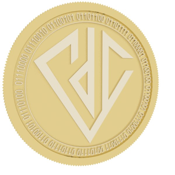 diamond platform gold coin model