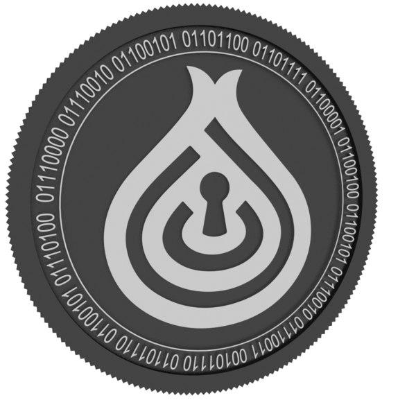 3D deeponion black coin
