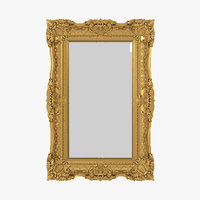 Baroque Mirror Picture Frame 12
