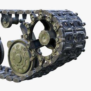 ready tank t-64 3D model