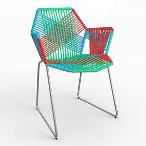 moroso chair 3D model