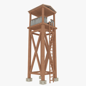 guard tower model