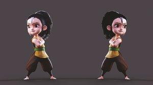 tory girl 3D model